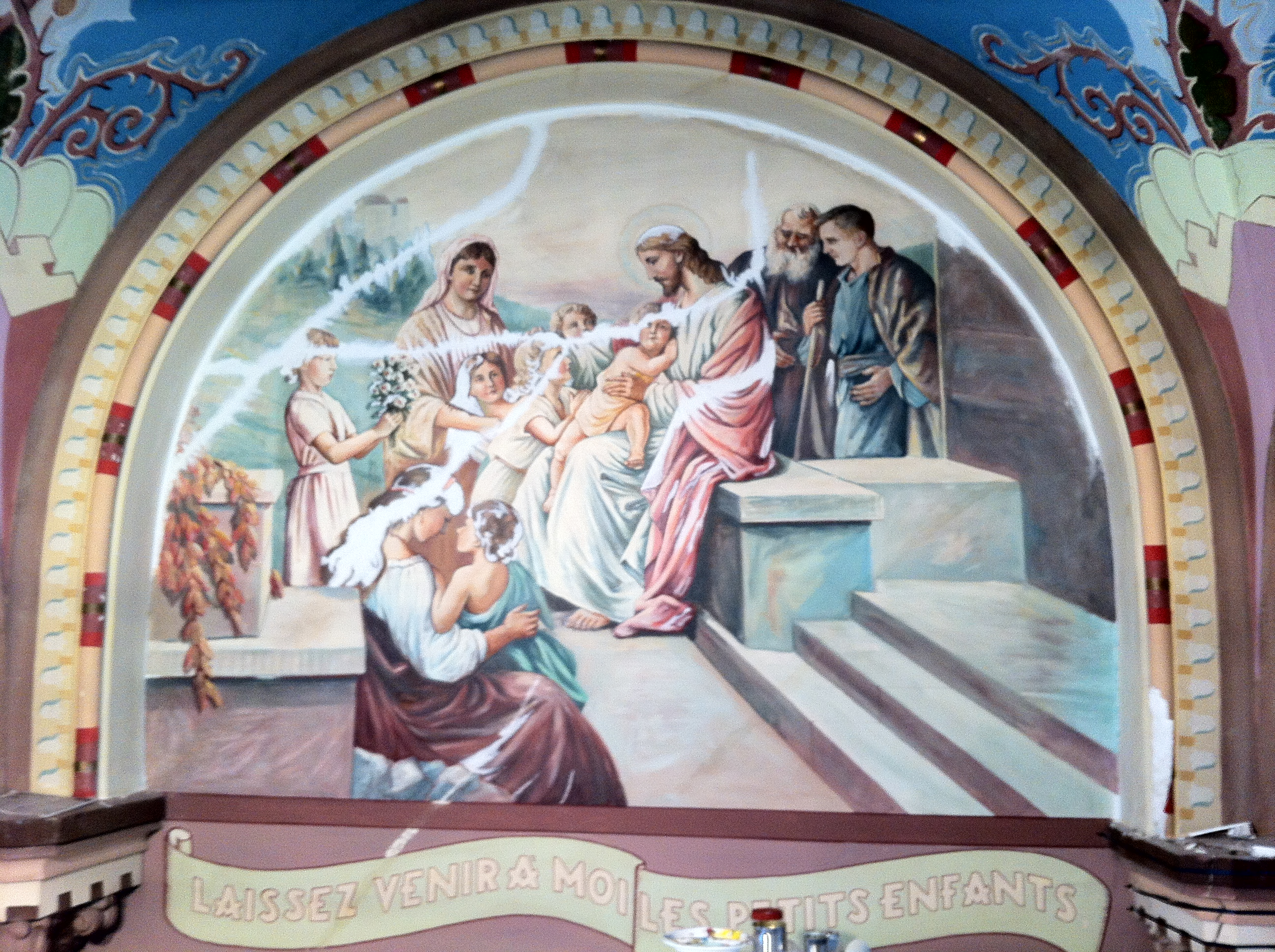 Other projects nolan hoiting for Church mural restoration